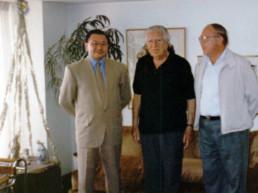 Lima, Perú 1993. Residencia Presidente Fernando Belaunde Terry. Andrés Cardó, Fernando Belaunde Terry, Andrés Cardó Franco