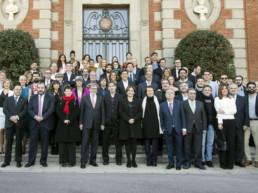 Barcelona, España, 2015. Palacete de Albéniz. Premios ONDAS
